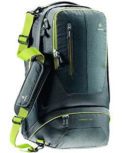 deuter transit 40 travel backpack review