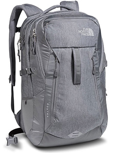 north face router laptop travel backpack